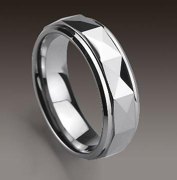 tungsten carbide polished ring