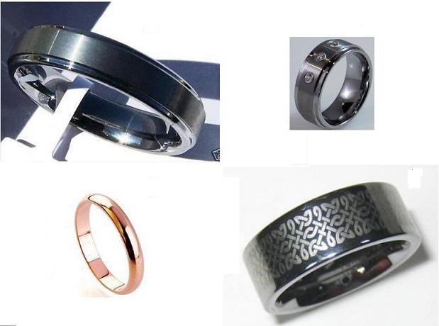 tungsten carbide jewelry